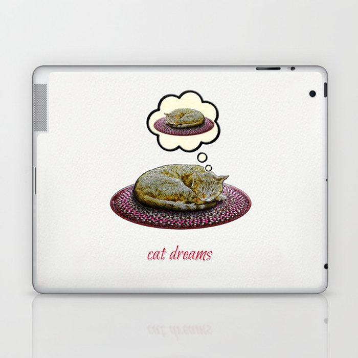Cat Dreams Laptop & iPad Skin