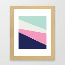 Modern lines Framed Art Print