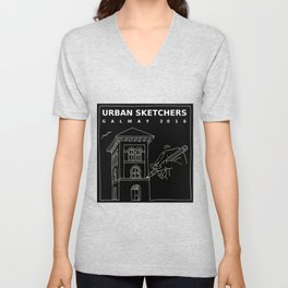 USk Galway TeeShirts and Bags Unisex V-Neck