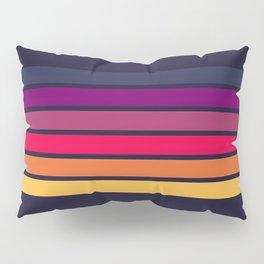 Darida - Classic 70s Retro Stripes Pillow Sham