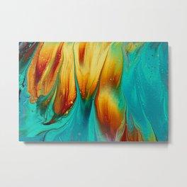 Abstract #321 Metal Print
