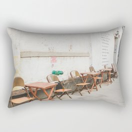 Going for Coffee in Brooklyn Rectangular Pillow