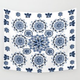 mandala flowers4 Wall Tapestry