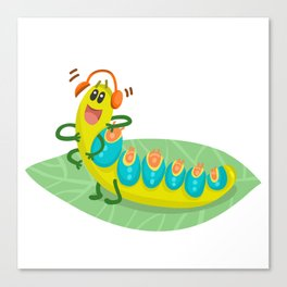 Poisonous Caterpillars Canvas Print