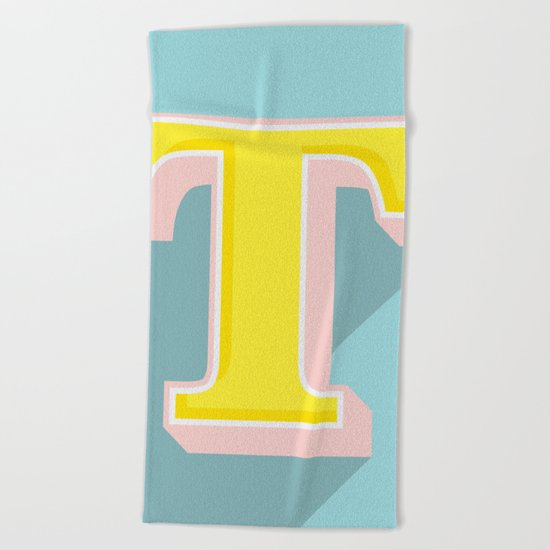 T is for .... Beach Towel