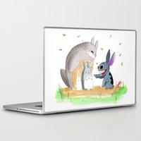 ohana Laptop & iPad Skins featuring Ohana Means Family by Avedon Arcade
