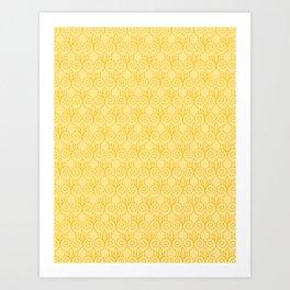 Column Pattern Art Print