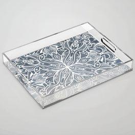 Gradient mandala Acrylic Tray