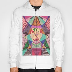 SAY YES Abstract 90's rave pattern Hoody