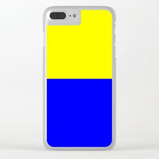 Flag of Zandvoort Clear iPhone Case