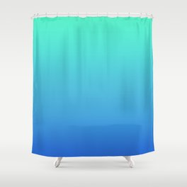 Hatsune Miku Gradient 01 Shower Curtain