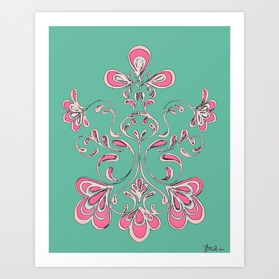 SwirlsIII Art Print