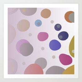 col. wild dots Art Print