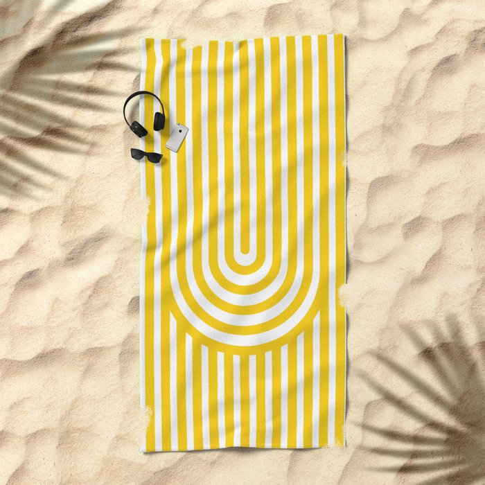 U, Beach Towel