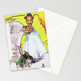 LITTLE CITY ANGEL Stationery Cards