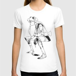 Brawler Sailor Moon - Sketch T-shirt