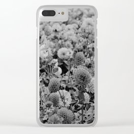 The Garden (Black and White) Clear iPhone Case