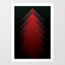 The Mountains of Mars Art Print