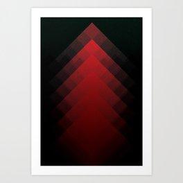 The Mountains of Mars Art Print