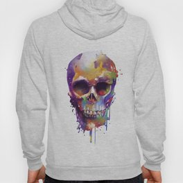 colorful skull Hoody