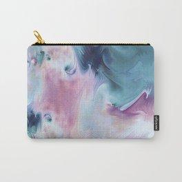 Abstract Art- Watercolor Art- Fractal Art- Blue Art- Ocean- Water- Marann Carry-All Pouch