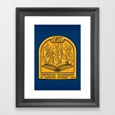 Fire Department 451 Framed Art Print