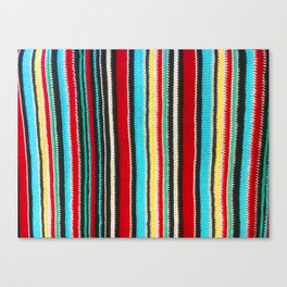 sasazuka knit Canvas Print