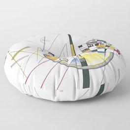 Art Mild Tension Vasily Kandinsky Floor Pillow