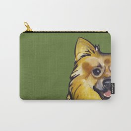 Molly the Pomeranian Carry-All Pouch