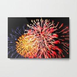 Firework Flower 1 Metal Print