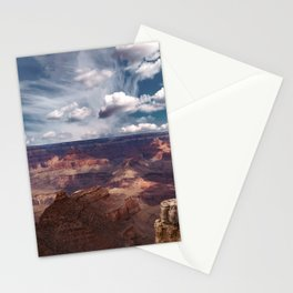 The Storm on the North Rim Stationery Cards