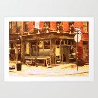 New York Street 1 Art Print