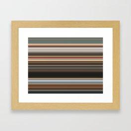 Danger of Starting a Fire Framed Art Print