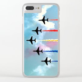 High Speed Clear iPhone Case