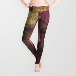 fantasy woman composite Leggings