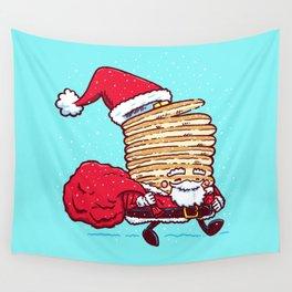 Santa Pancake Wall Tapestry