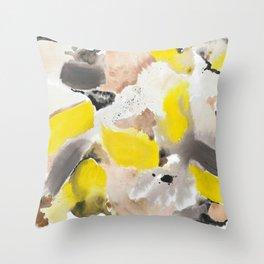 September Morning on the Island Throw Pillow