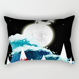 Lovly Moon Rectangular Pillow