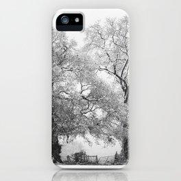 Snowbound iPhone Case