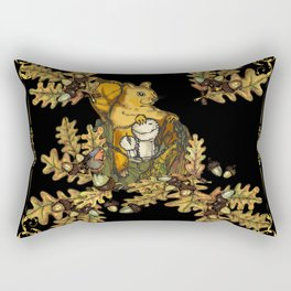 History of the autumn forest_6 Rectangular Pillow