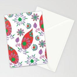 Paisley pattern #S5 Stationery Cards