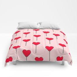 Heart Lollipops Comforters