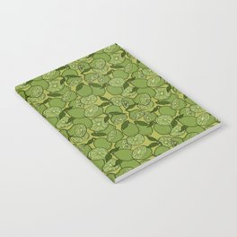 Lime Greenery Notebook
