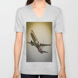 N898NN American Airlines Boeing 737-823 Miami Florida USA Aircraft Unisex V-Neck