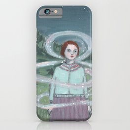 memories wrapped around her and guided her home iPhone Case