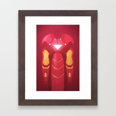 Fe Man Framed Art Print