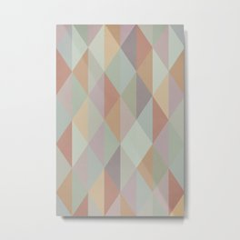 Colorful pattern Metal Print