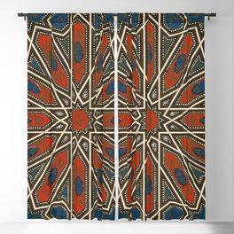 Islamic Geometry Orientalist Middle Eastern Arabian Persian Vintage Style Moroccan Rugs Blackout Curtain