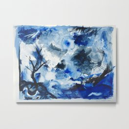 Blustery Weather Metal Print