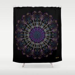 Bandas de Angeles Shower Curtain